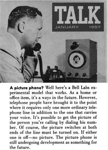 PicturePhone 1957