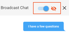 Broadcast Chat_Private