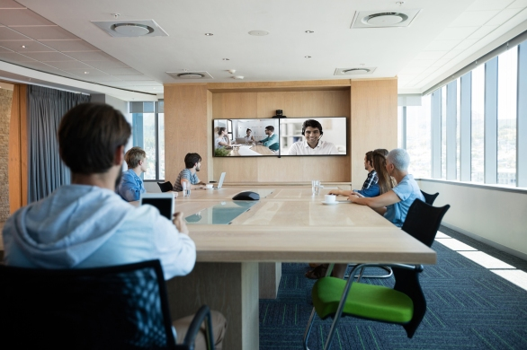 Video Conference Room Multipoint Meeting